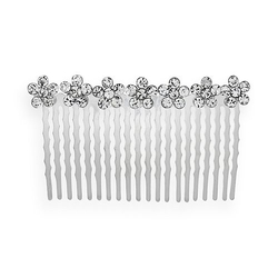 Flower Hair Comb by Crystal Allure in Scream Queens