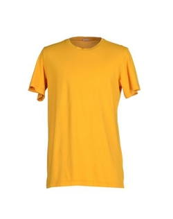 Crew Neck T-Shirt by Galliano in Rosewood