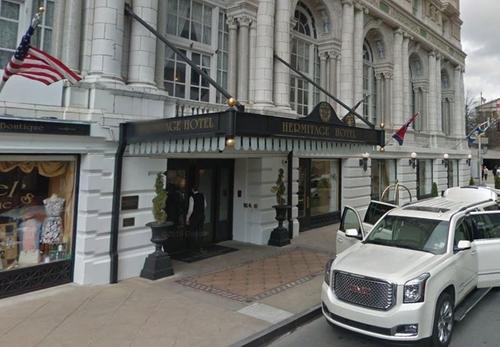 Hermitage Hotel Nashville, Tennessee in Master of None - Season 1 Episode 6 - Nashville