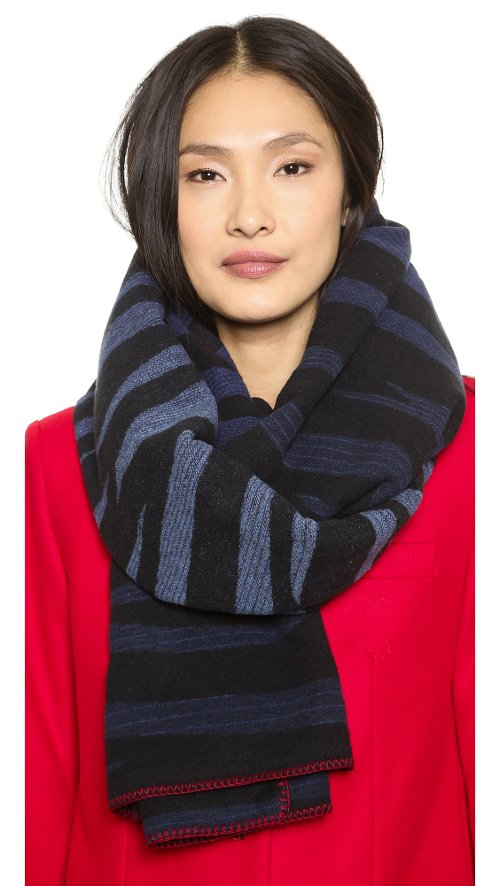 Tora Stripe Scarf by Marc by Marc Jacobs in If I Stay