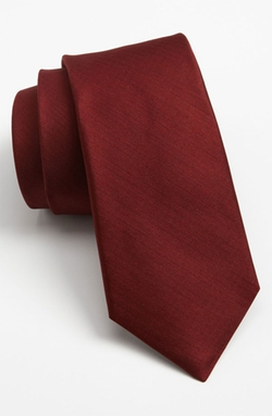 Woven Silk Tie by Michael Kors in Quantico