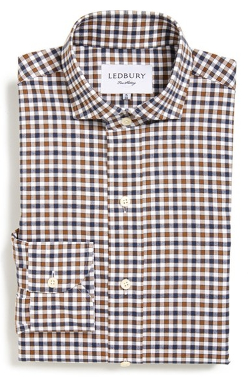 'Grove' Gingham Dress Shirt by Ledbury in Modern Family - Season 7 Episode 13