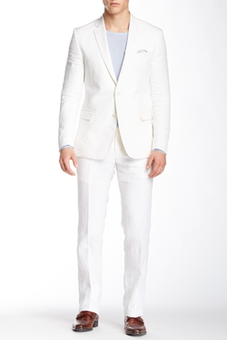 Two Button Peak Lapel Trend Suit by Versace in Empire