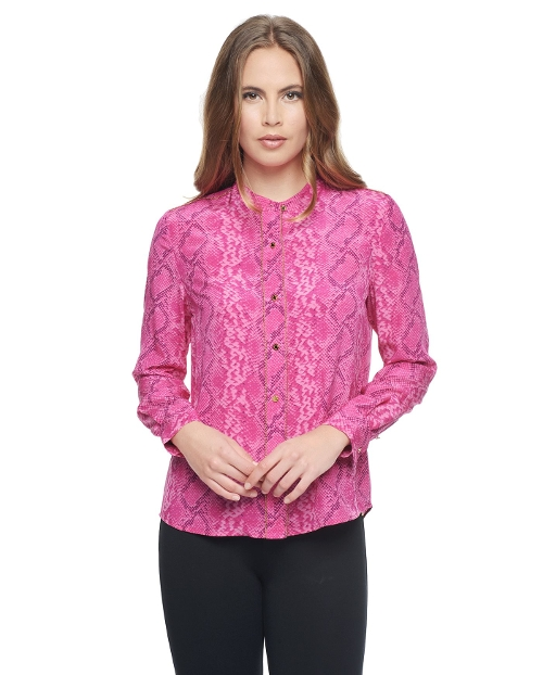 Embellished Silk Blouse by Juicy Couture in No Escape