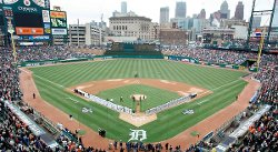 Detroit, MI by Comerica Park in Need for Speed