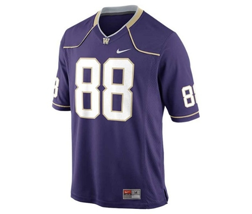 Men's Washington Huskies Replica Football Game Jersey by Nike in Mean Girls