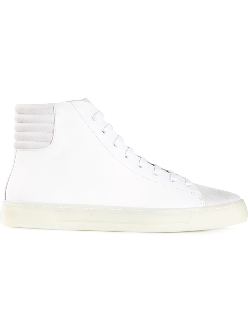 Contrast Toe Cap Hi-Top Sneakers by Silent Damir Doma in Dope