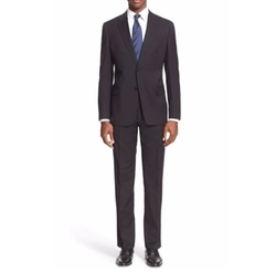 G-Line Trim Fit Solid Wool Suit by Armani Collezioni in Designated Survivor