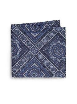 Mosaic Pocket Square by Saks Fifth Avenue Collection in The Best of Me