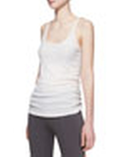 Ribbed Cashmere-Blend Tank Top by Donna Karan in Ballers
