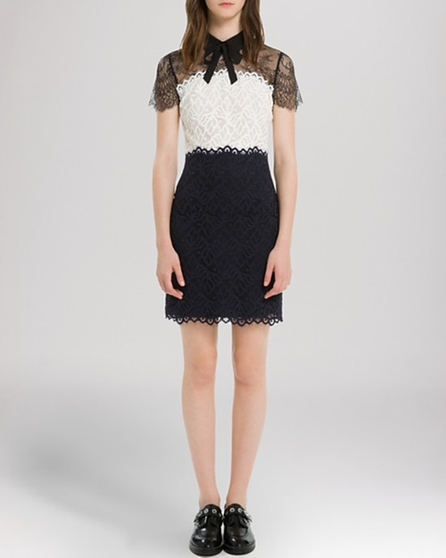 Rozen Dress by Sandro in The Good Wife - Season 7 Episode 6