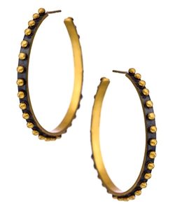 Soho Hoop Earrings by Julie Vos in Knock Knock