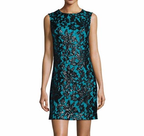 Sleeveless Floral Shift Dress by Diane von Furstenberg in How To Get Away With Murder - Season 3 Episode 2