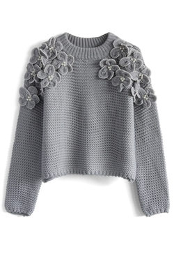 My Flowers and Pearls Sweater by ChicWish in Bad Moms