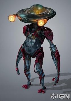 Alpha 5 Robot by Weta Workshop (Concept Artist) in Power Rangers
