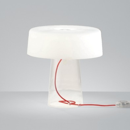 Glam T1 Table Lamp by Prandina in Self/Less