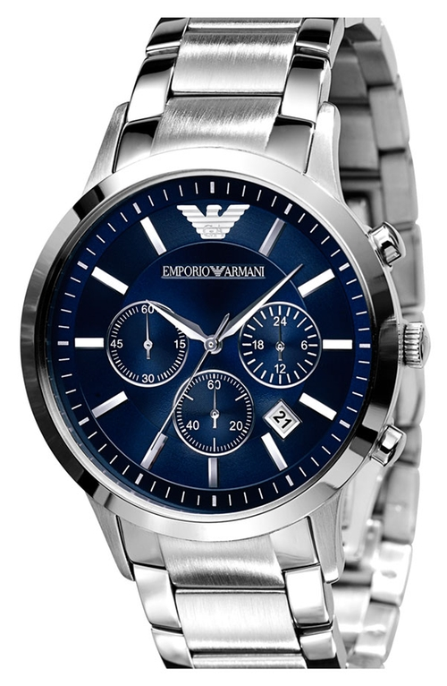 Stainless Steel Bracelet Watch by Emporio Armani in Suits - Season 5 Episode 4