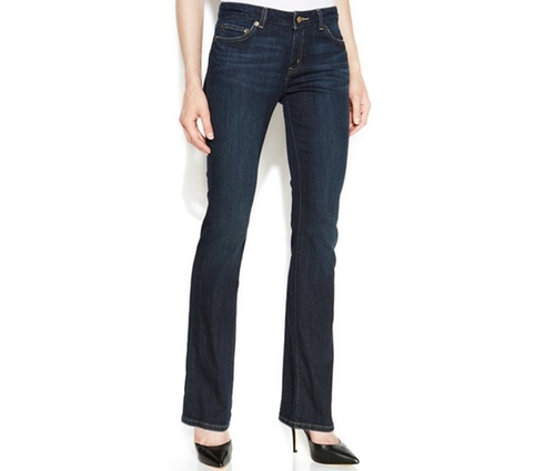 Curvy-Fit Bootcut-Leg Jeans by Michael Kors in Mean Girls