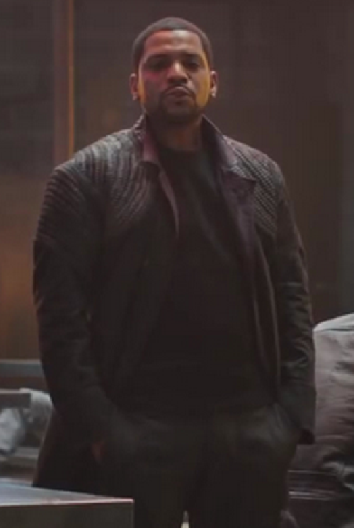 Custom Made Max 'Dauntless' Jacket by Carlo Poggioli (Costume Designer) in Divergent