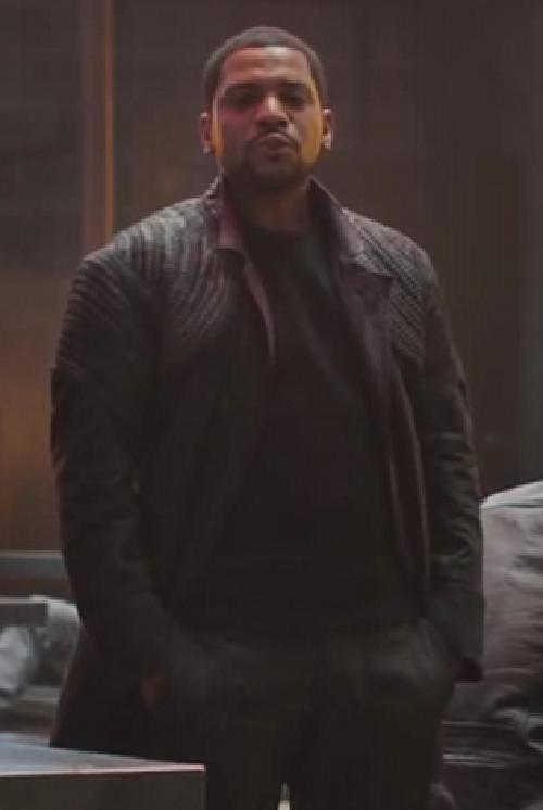 Custom Made Max 'Dauntless' Jacket by Carlo Poggioli (Costume Designer) in Divergent