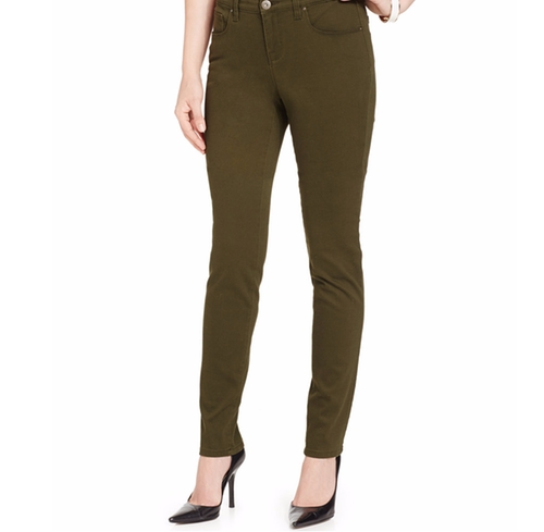 Curvy-Fit Colored Wash Skinny Jeans by Style & Co. in Kong: Skull Island