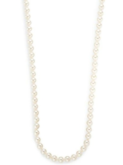 Pearl & Sterling Silver Necklace by Majorica in Pretty Little Liars