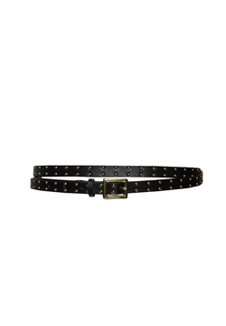 Studded Nappa Skinny Belt by Alice & Olivia in The Flash