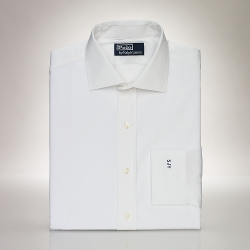 Classic-Fit Poplin Regent Dress Shirt by Polo Ralph Lauren in Self/Less