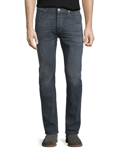 Sartor Turnstone Washed Skinny-Leg Denim Jeans by Hudson in Quantico - Season 2 Episode 1