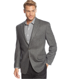 Cashmere-Blend Herringbone Sport Coat by Lauren Ralph Lauren in The Mindy Project
