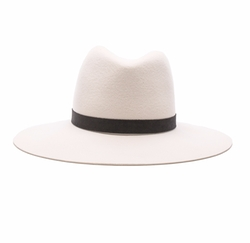Camellia Wide Brimmed Classic Fedora by Janessa Leone in Keeping Up With The Kardashians