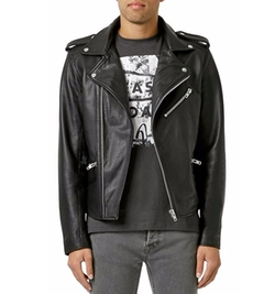 Leather Biker Jacket by Topman in Shadowhunters