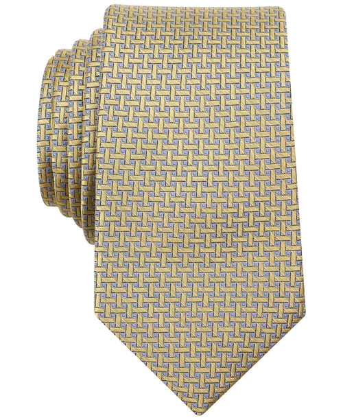 Gallagher Mini Slim Tie by Perry Ellis in Crazy, Stupid, Love.
