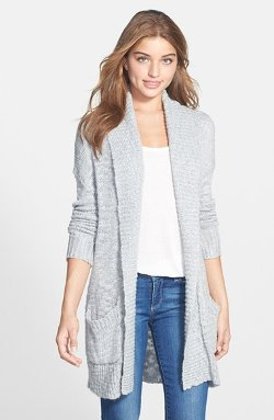 Open Front Long Cardigan by Halogen in If I Stay