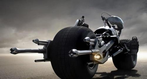 The Batpod by Nathan Crowley (Production Designer) in The Dark Knight Rises
