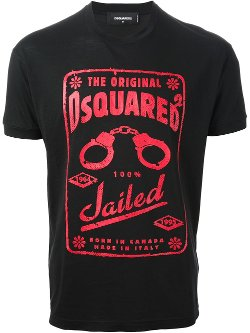 Printed T-Shirt by Dsquared2 in If I Stay