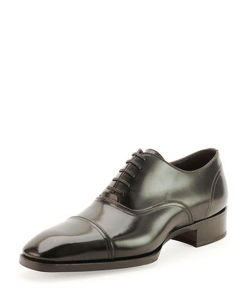 Gianni Cap-Toe Lace-Up Shoes by Tom Ford in Suits - Season 5 Episode 7