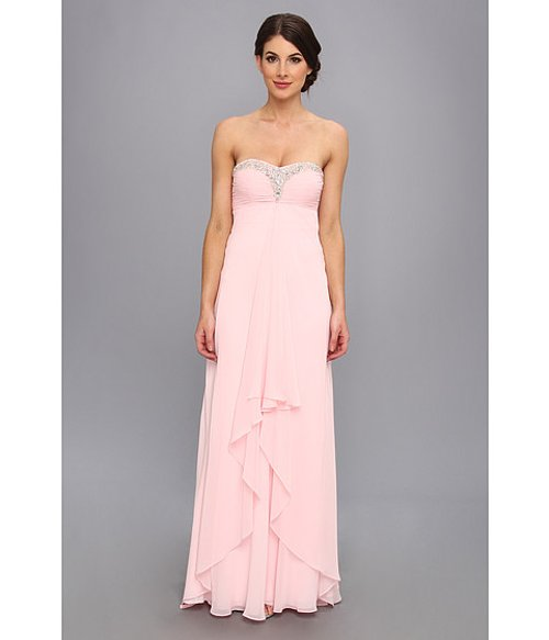 Strapless Sweetheart Chiffon Gown by Faviana in The Best of Me