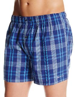 Men's Plaid Woven Boxer Short by Kenneth Cole New York in Hot Tub Time Machine 2