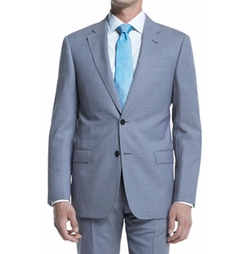 G-Line Melange Solid Two-Piece Suit by Giorgio Armani in Jane the Virgin