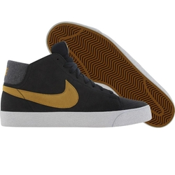 Blazer Mid LR (Dark Obsidian / Dark Gold Leaf / White) Shoe by Nike in Neighbors