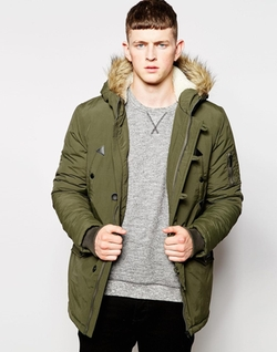 Parka Jacket by Brave Soul in Christmas Vacation