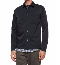 Tech Chest-Pocket Utility Shirt Jacket by Vince in The Flash