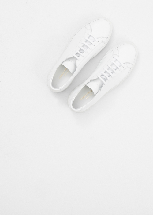 White Original Achilles Low Sneaker by Common Projects in Master of None - Season 1 Episode 7