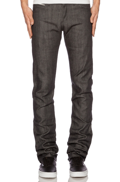 Denim Skinny Guy Selvedge Jeans by Naked & Famous Denim in Dope