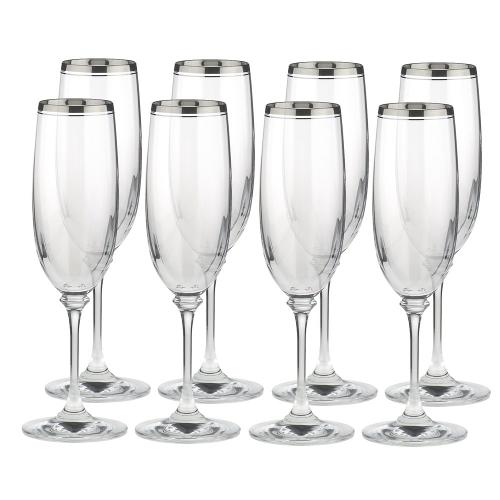 Crystal Champagne Flute by Stephanie Platinum in The Other Woman