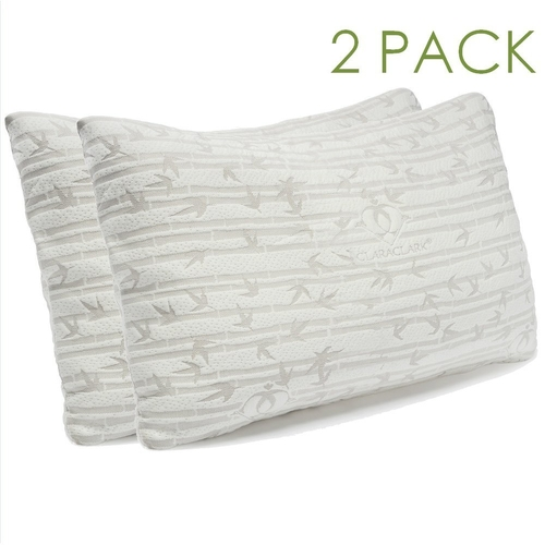 Bamboo Shredded Memory Foam Pillow by Clara Clark in Begin Again
