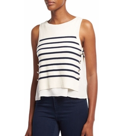 Sailor Striped Tank Top by 3.1 Phillip Lim in The Fate of the Furious