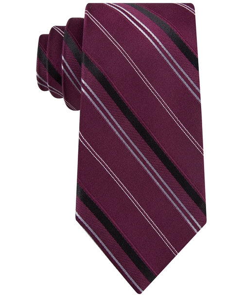 Vitality Stripe Tie by Michael Michael Kors in Rosewood - Season 1 Episode 10