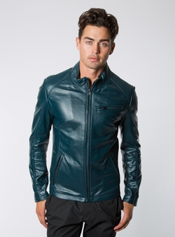 Lambskin Leather Jacket by Norwell in The Nice Guys